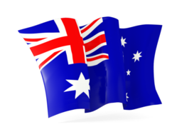 australia waving flag 256