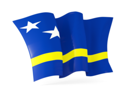 curacao waving flags