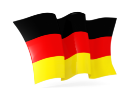germany waving flags