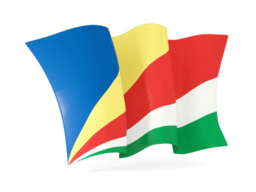 seychelles waving flags