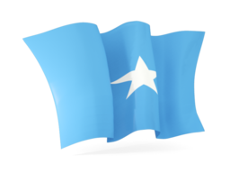 somalia waving flags