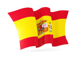 spain waving flags