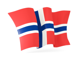 svalbard and jan mayen waving flags